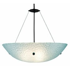 <strong>WPT Design</strong> 3 Light Bowl Inverted Pendant