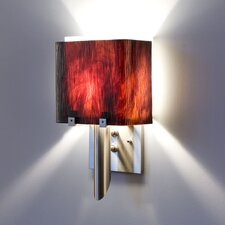 Dessy1/6 1 Light Double Pane Wall Sconce