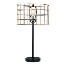 "Braxton 28"" H Table Lamp with Drum Shade"