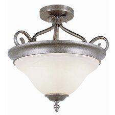New Century Semi Flush Mount