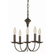 New Century 5 Light Chandelier