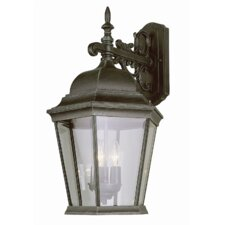 <strong>TransGlobe Lighting</strong> Outdoor 3 Light Wall Lantern