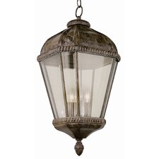 <strong>TransGlobe Lighting</strong> Outdoor 4 Light Hanging Lantern