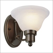 <strong>TransGlobe Lighting</strong> Outdoor 1 Light Wall Sconce - Energy Star
