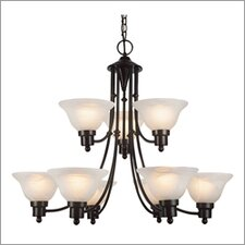 9 Light Chandelier - Energy Star