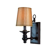 Modern Meets Traditional 1 Light Wall Sconce