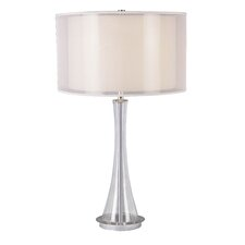 "30.25"" H Table Lamp with Drum Shade"