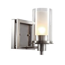 1 Light Square Wall Sconce