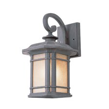 Corner Windows 1 Light Outdoor Small Wall Lantern