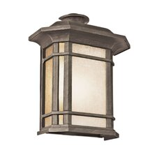 <strong>TransGlobe Lighting</strong> Corner Windows 1 Light Outdoor Pocket Lantern