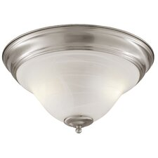 <strong>TransGlobe Lighting</strong> 2 Light Flush Mount