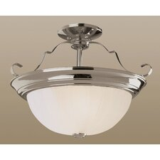 2 Light 14W Semi Flush Mount