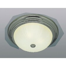 <strong>TransGlobe Lighting</strong> 3 Light Flush Mount