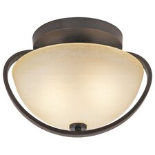 1 Light Metal Flush Mount