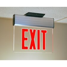 <strong>TransGlobe Lighting</strong> Accessories Safety Exit Sign
