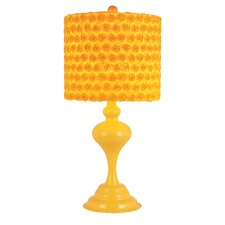 """Kids Korner 23"""" H Table Lamp with Drum Shade"""