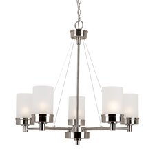 Urban Swag 5 Light Chandelier