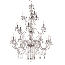 <strong>TransGlobe Lighting</strong> 21 Light Chandelier