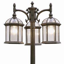 "Outdoor 3 Light 79"" Post Lantern Set"