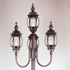 "<strong>TransGlobe Lighting</strong> 4 Light 96"" Post Lantern Set"