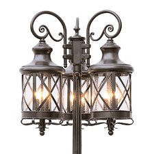 "6 Light 81"" Post Lantern Set"