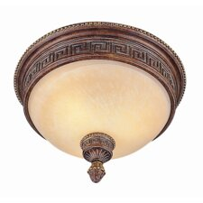 <strong>TransGlobe Lighting</strong> Mediterranean Flush Mount