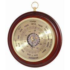 Barometer with Spun