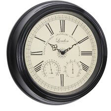 Traditional Thermo / Hygro Wall Clock