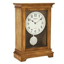 Flat Top Mantel Clock with Pendulum