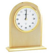 RC Arch Top Mantel Clock in Gold