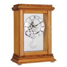 Skeleton Pendulum Mantel Clock