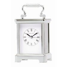 Carriage Mantel Clock with Roman Dial