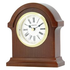 Break Arch Mantel Clock with Classic Roman Dial