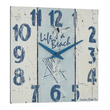 """Life's A Beach"" Wall Clock"