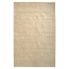 Sculpture Square Beige Rug