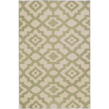 <strong>Candice Olson Rugs</strong> Market Place Cream/Sage Rug