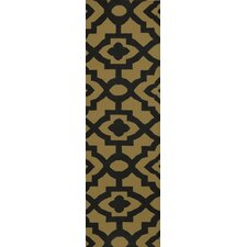 Market Place Kelp Brown Rug