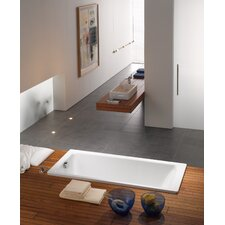 "Puro 63"" x 28"" Bathtub with Side Overflow"