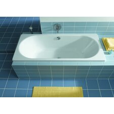 "Klassikduo 71"" x 32"" Rectangular Bathtub"
