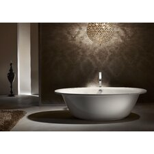 "Luxxo Duo 75"" x 39"" Oval Bathtub"