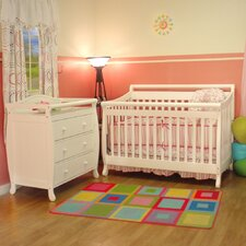 Amy 3-in-1 Convertible Crib Set