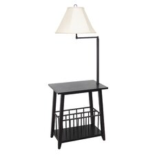 Berkley Magazine Rack Floor Lamp