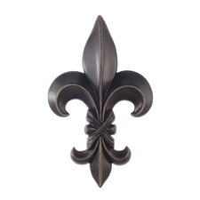 Fleur-De-Lis Sculpture Wall Decor