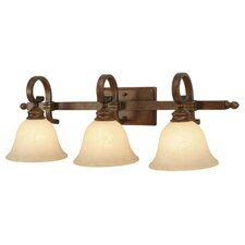 Rockefeller 3 Light Bath Vanity Light
