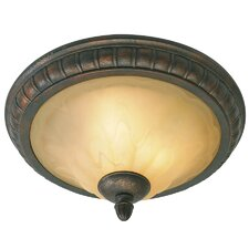 <strong>Golden Lighting</strong> Mayfair 2 Light Flush Mount