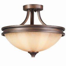 Hidalgo 2 Lights Semi Flush Mount