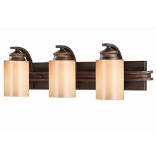 <strong>Golden Lighting</strong> Hidalgo 3 Light Bath Vanity Light