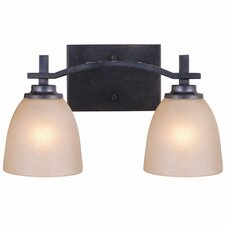 Hampden 2 Light Bath Vanity Light