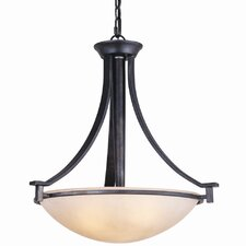 Hampden 3 Light Bowl Inverted Pendant