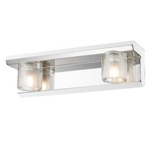 <strong>Golden Lighting</strong> Max 2 Light Bath Vanity Light
